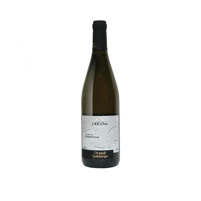 Cricova Chardonnay Alb Sec