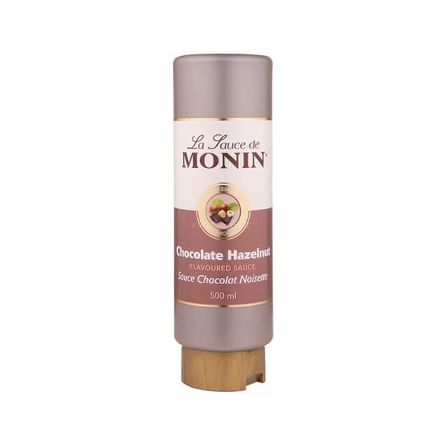 Chocolate-Hazelnut - Topping-de-Ciocolata-cu-Alune-Monin-0.5L