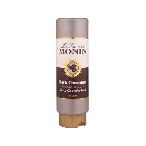 Dark-Chocolate - Topping-de-Ciocolata-Neagra-Monin-0.5L